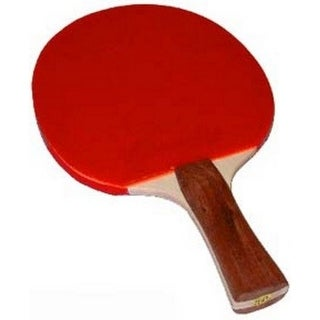 Champion Sports Unisex Competition Table Tennis Paddles, Red, Os