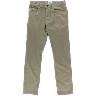 Hudson Womens Jagger Slim Fit Khaki Pants - 14