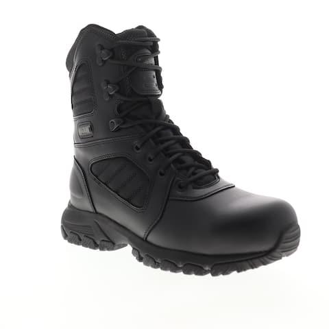 Magnum Response III 8.0 Steel Toe Black Mens Work Boots