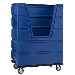 48 cu. ft. Turnabout Truck, Blue - 60 x 29 x 56 in.
