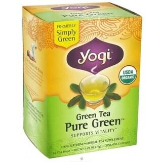 Yogi 27099 Organic Simply Green Tea