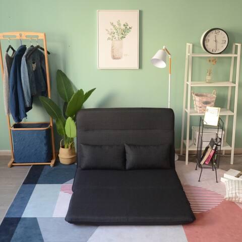 TiramisuBest folding lazy sofa floor chair sofa recliner bed