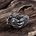 Vienna Jewelry Abstract Claw Stainless Steel Ring - Thumbnail 1