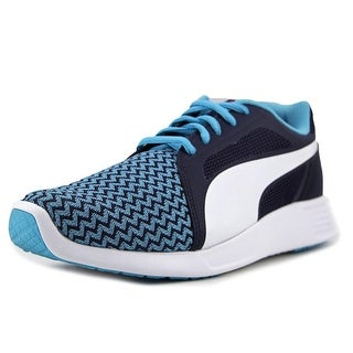 Puma ST Trainer Evo Techtribe PS Youth Synthetic Blue Fashion Sneakers (Option: 7)