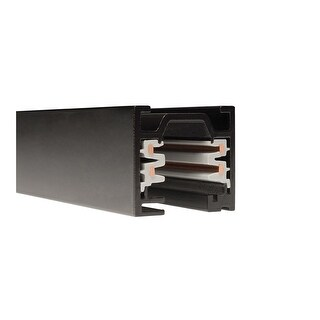 """WAC Lighting WT4 48"""" Length Two Circuit W-Track Section"""