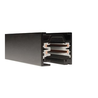 """WAC Lighting WT8 96"""" Length Two Circuit W-Track Section"""