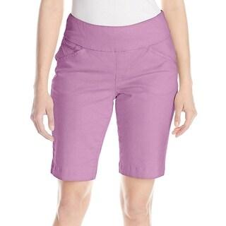 Jag Jeans NEW Purple Women's Size 12 Ainsley Bermuda Walking Shorts