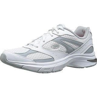 Dr. Scholl's Womens Pivot Leather Mesh Athletic Shoes - 6 medium (b,m)