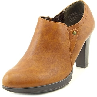 Rialto Phiona Women Round Toe Synthetic Brown Bootie