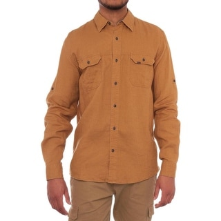 Timberland Earthkeepers Long Sleeve Collared Button Down Men Casual