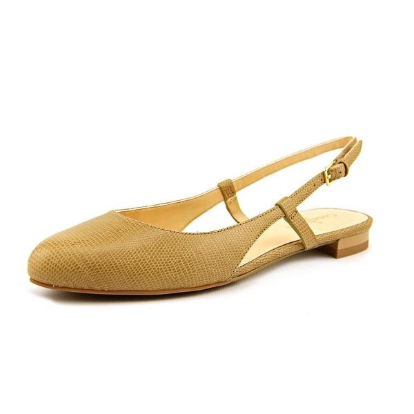 Cole Haan Marloe Slng Skim II Round Toe Leather Slingback Sandal