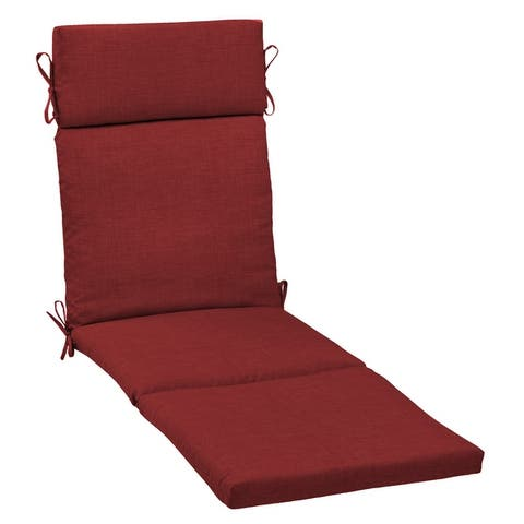 Arden Selections Leala Texture Outdoor Chaise Lounge Cushion