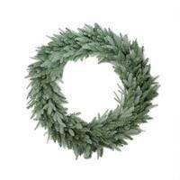 """36"""" Washington Frasier Fir Artificial Christmas Wreath - Unlit - green"""