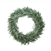 "48"" Washington Frasier Fir Artificial Christmas Wreath - Unlit - green"