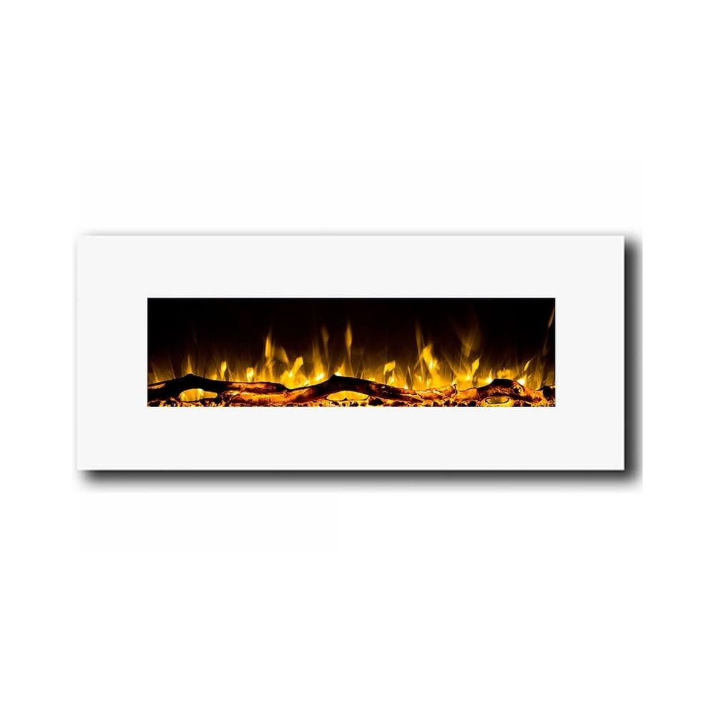 Shop Regal Flame Ashford 50 White Ventless Heater Electric Wall