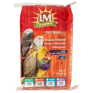 LM Animal Farms Large Parrot Diet 24 lbs