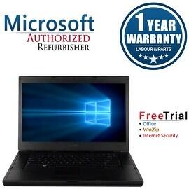 "Refurbished Dell Latitude E6510 15.6"" Laptop Intel Core i5 520M 2.4G 4G DDR3 250G DVD Win 7 Pro 64 1 Year Warranty"