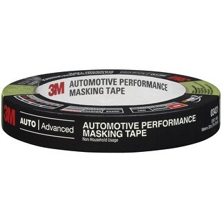 3M 03431 Automotive Performance Masking Tape, 18MM x 32M