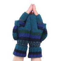 Mad Style Knit Fashion Gloves - Multi