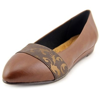 Soft Style by Hush Puppies Dona Pointed Toe Synthetic Flats