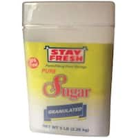 Stay Fresh 7120 Polypropylene Sugar Container, Clear