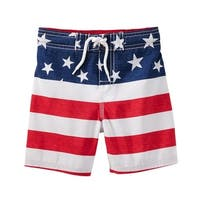 OshKosh B'gosh Big Boys' Americana Swim Trunks