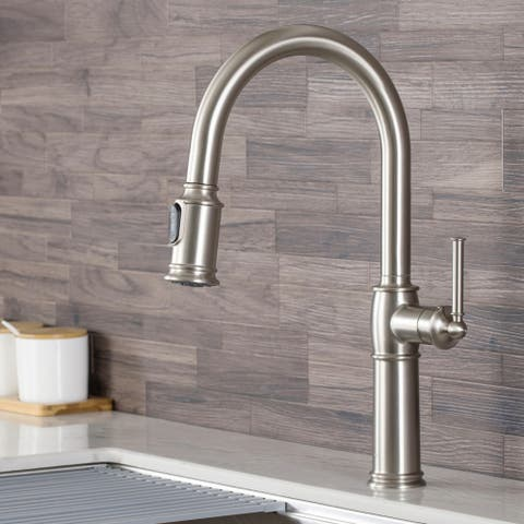 Kraus KPF-1682 Sellette Traditional 1-Handle Pulldown Kitchen Faucet