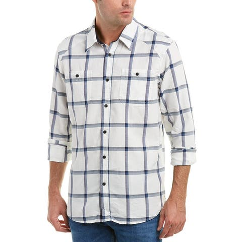 Jachs Pieced Classic Fit Workshirt