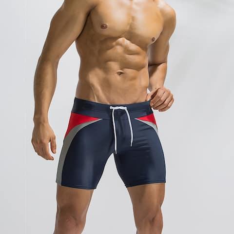 Men's Swim Trunks Compression Fashion Swim Shorts Jammers Swimsuit