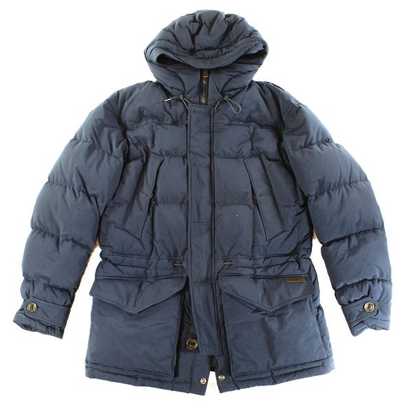 Polo Ralph Lauren NEW Blue Mens Size XL Full-Zip Hooded Parka Jacket