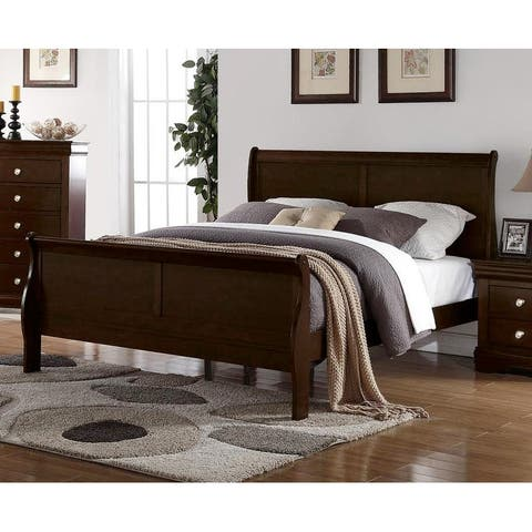 Ocala Louis Philippe Sleigh Bed by Greyson Living
