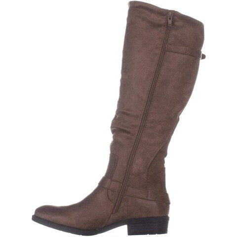 Bare Traps Womens Yanessa Almond Toe Knee High Fashion Boots
