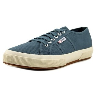 Superga 2750 Cotu Classic Women Round Toe Canvas Blue Sneakers
