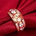 A King's Crown Gemstone Rose Gold Ring - Thumbnail 2