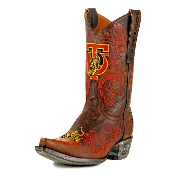 Gameday Boots Womens College Tuskegee Golden Tiger Brass