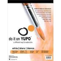 "White 74Lb - Yupo Paper 9""X12"" 10 Sheets/Pkg"