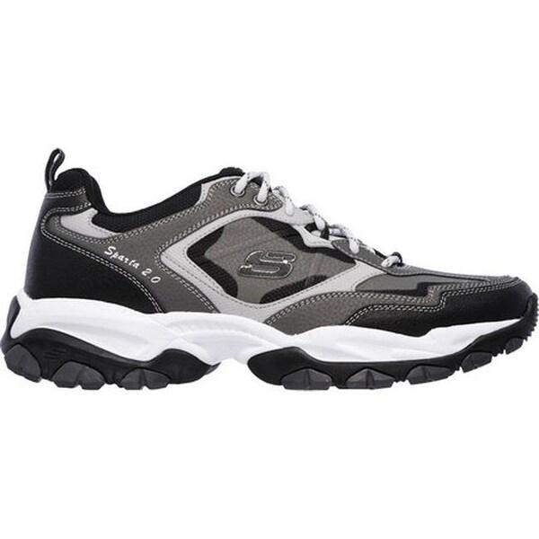 Skechers Men's Rough Cut Cross Training Shoes Charcoal