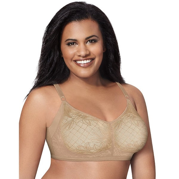 941ea84409 Just My Size Undercover Slimming Wirefree Bra with SlenderU® Panels - Size  - 40B -