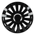 Pilot Automotive WH550-14GB-B Black 14/ 15/ 16-inch Performance E Series Gloss Finish Wheel Cover (Pack of 4) - Thumbnail 0