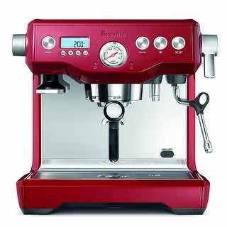 Breville BES920CBXL Dual Boiler Espresso Machine (Cranberry Red)
