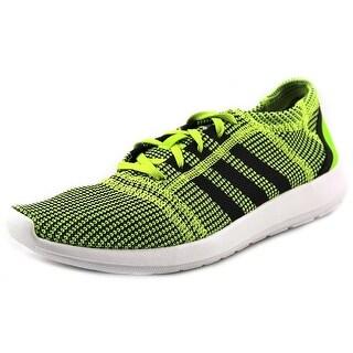 Adidas Element Refine Tricot M Men Round Toe Canvas Green Running Shoe