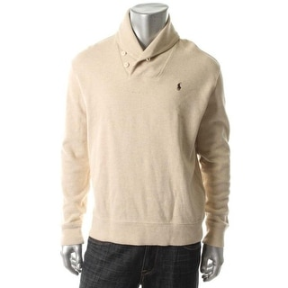 Polo Ralph Lauren Mens Pullover Sweater Signature Heathered - S