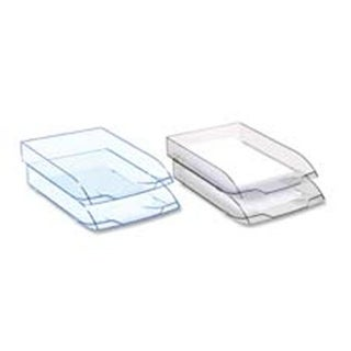 CEP CEP1477105 Letter Tray- Stackable- Ice Black