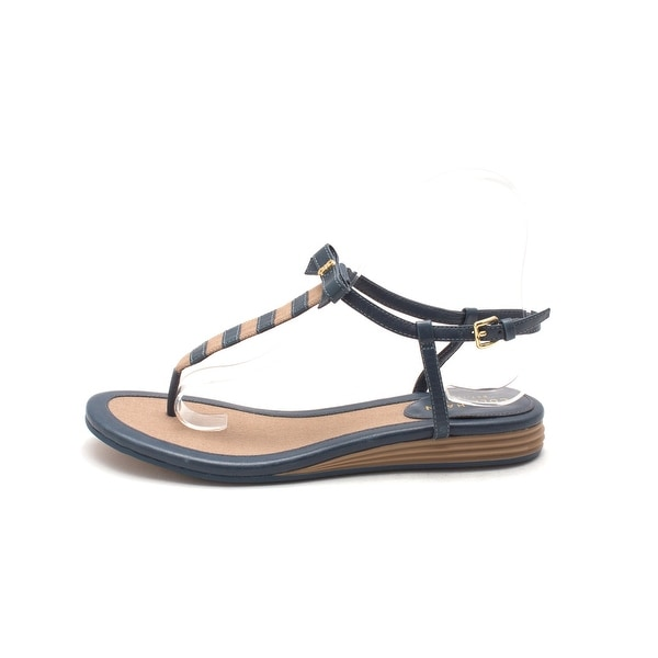 Cole Haan Womens Aphrasam Open Toe Casual T-Strap Sandals - 6