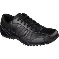 Skechers Men's Work Relaxed Fit Elston SR Black