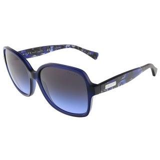 Ralph Lauren RA5186 132079 Electric Blue Square sunglasses - Electric Blue - 57-16-135