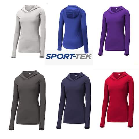 Sport-Tek Ladies PosiCharge Hooded Pullover