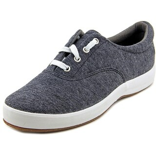 Grasshoppers Janey Women Round Toe Canvas Gray Sneakers