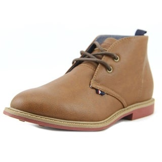 Tommy Hilfiger Michael Chukka Youth Round Toe Synthetic Brown Chukka Boot
