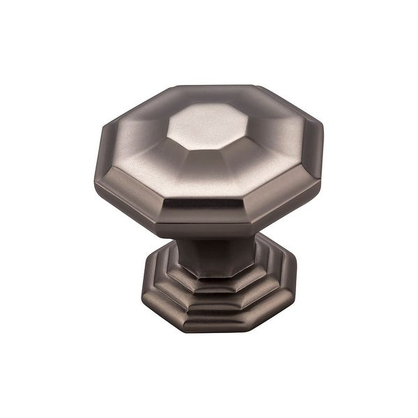 "Top Knobs TK348 Chalet 1-1/2"" Diameter Geometric Cabinet Knob from the Chareau Series"